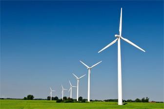 Windmolens zijn duurzame energiebronnen